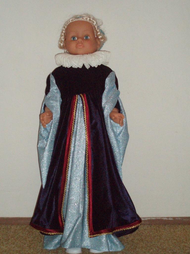renesanční panenka