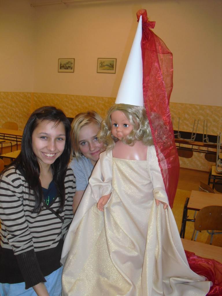 gotická panenka
