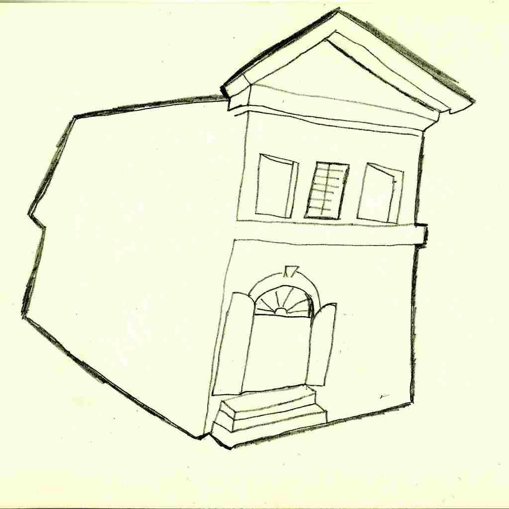 klasicistní dům - F. Brož