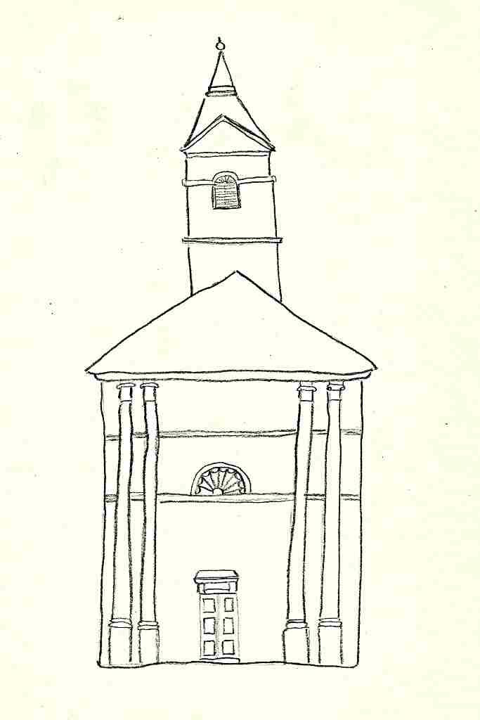 klasicistní prvky - kostel - J. Baxa