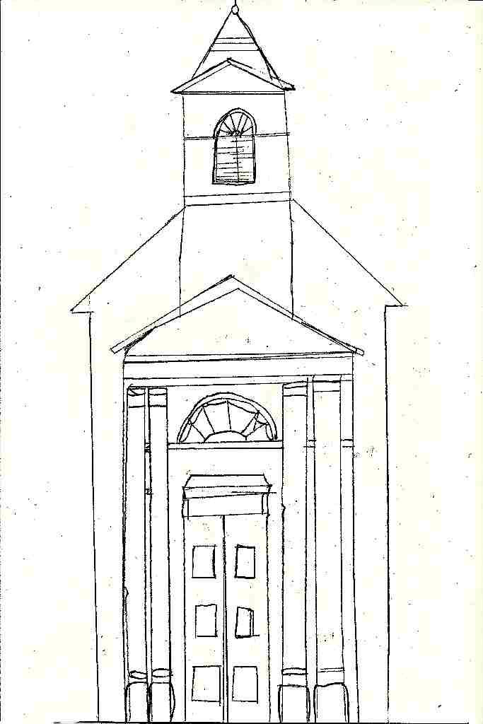 klasicistní kostel - J. Tejčková