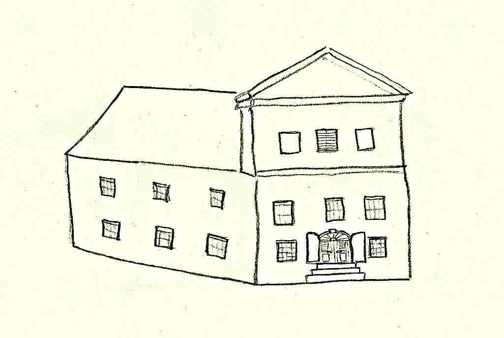 klasicistní dům - J. Baxa