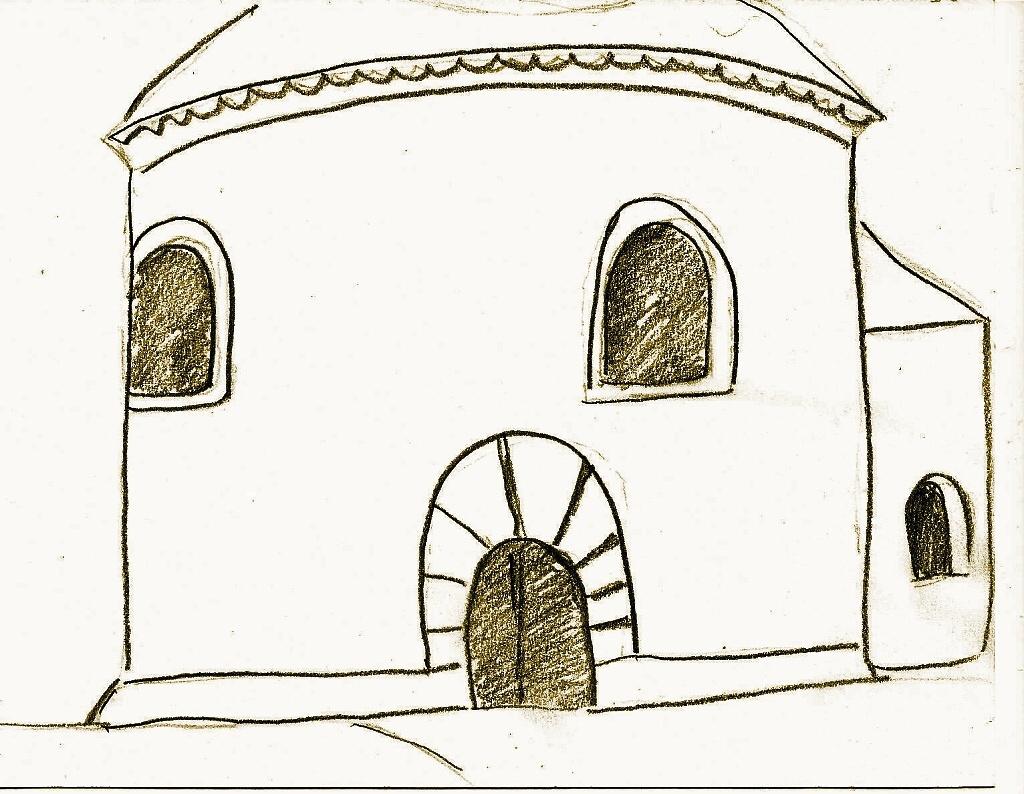 P. Nosál - rotunda - vchod