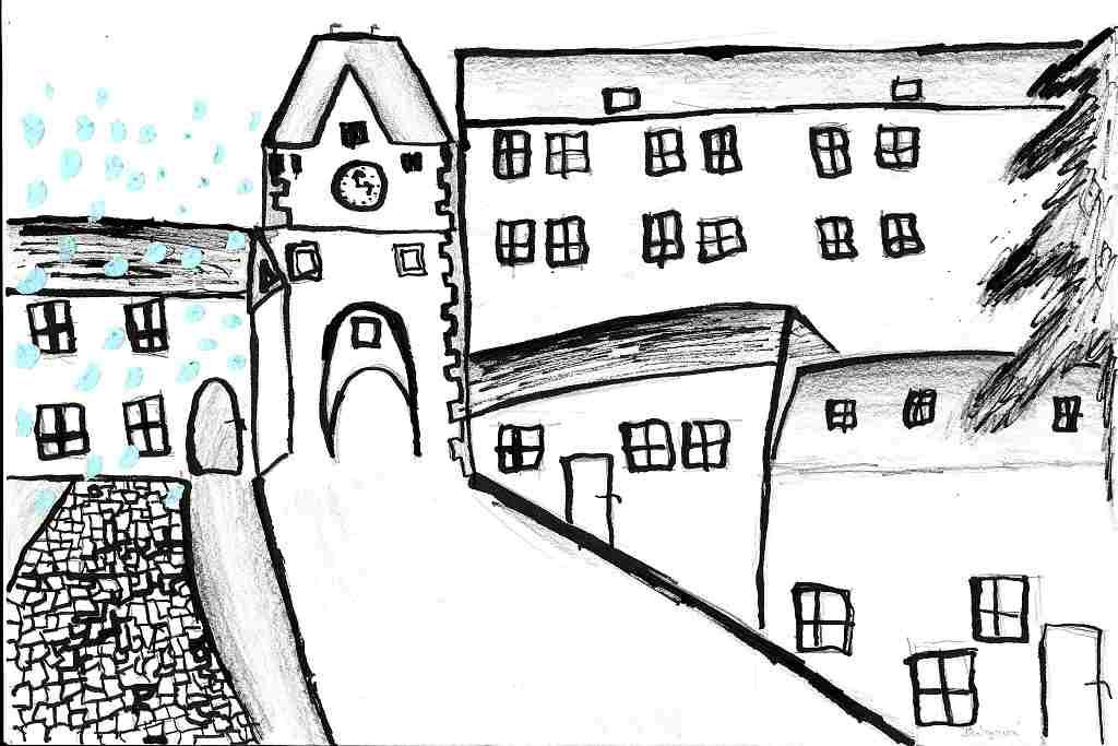 renesance - Nežárecká brána - A. Balgová